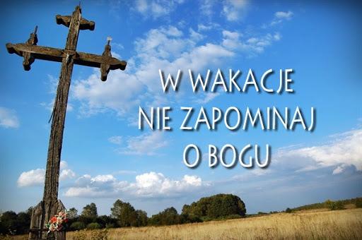 Msze święte niedzielne wLIPCU iSIERPNIU